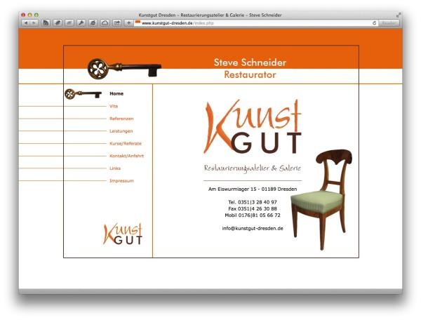 Kunstgut Dresden - Restaurierungsatelier & Galerie - Steve Schneider 3