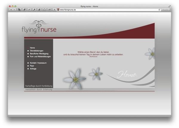 flying nurse - Home